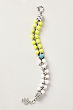 Pearled Colorblock Bracelet #anthrofave