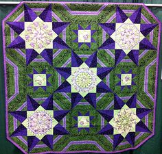 MQX West Green and Purple. Love the colors! Stack-n-whack for he centers