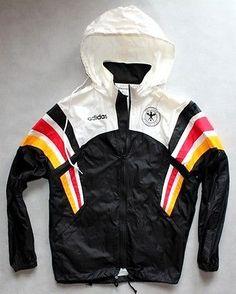 Vintage-Adidas-Germany-Football-Team-Windbreaker-Rain-Jacket-90S-MAN-SIZE-XL
