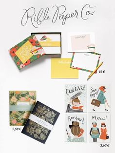 New in Babushka Boutique: Riffle Paper Co.