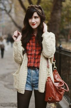 Pretty fall indie hipster fashion
