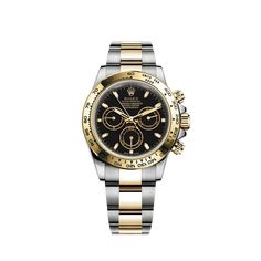 Rolex Cosmograph Daytona Watch: Yellow Rolesor - combination of Oystersteel and 18 ct yellow gold - m116503-0004
