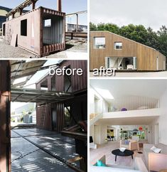 Modern Residence Made of Shipping Containers