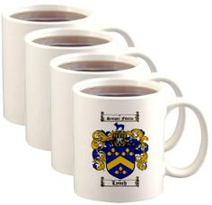 Lynch Coat of Arms / Family Crest Mugs