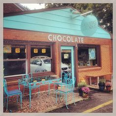 """@cal patch's photo: """"Cutest darn chocolate shop I ever did see."""" Lagusta's Luscious in New Paltz, NY"""