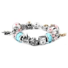Pandora Fairy Tale Bracelet... I don't wear jewelry like this, but I think it's adorable to look at! I luv fairy tales