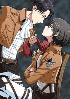 Rivaille (Levi) x Mikasa Ackerman, Shingeki no Kyojin/Attack on Titan