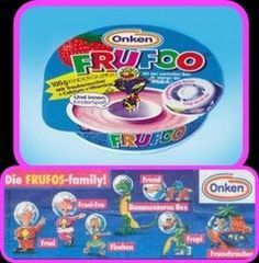 From 1994 to 2004 there was the sweet strawberry quark Frofos, which was later renamed Frufoo. Exceptional was the quark mug in the form of a UFO. In the middle there was not only Fruchquark but also various figures of the Frufoo Family to collect. Childhood Memories 90s, Good Old Times, 90s Toys, 90s Nostalgia, Snacks, Baby Toys, Sweet, Kids, 90s Things