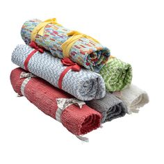 Organic Hand Loomed Small Rug - Assorted