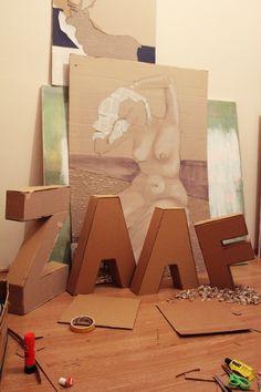 zaaf! by Emii Arslan, via Behance