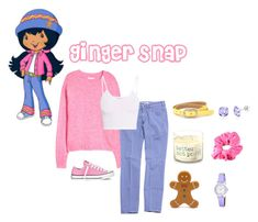 Designer Clothes, Shoes & Bags for Women Teenage Girl Outfits, Girly Outfits, Cute Outfits, Trio Halloween Costumes, Halloween Outfits, Strawberry Shortcake Halloween Costume, Storybook Character Costumes, Strawberry Crush, Creepypasta Oc