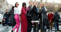 50 Jaw-Droppingly Good Outfits From Paris - The best street style looks from Paris Fashion Week this March Jeanne Damas, Aimee - Columbia, Winter Coat Outfits, Raincoat Outfit, Yellow Raincoat, Cool Street Fashion, Paris Fashion, Raincoats For Women, Unisex, Jackets