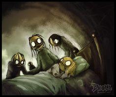 We Get You When You Sleep by dholl.deviantart.com on @DeviantArt