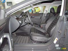 Black Interior 2012 Volkswagen CC Lux Limited Photo #54022059