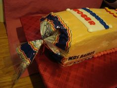 Mrs. Baird's Theme Birthday Cake!