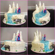 Disneys frozen themed cake