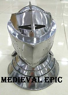 Medieval Epic Closed Knight Armour Helmet Medieval Epic
