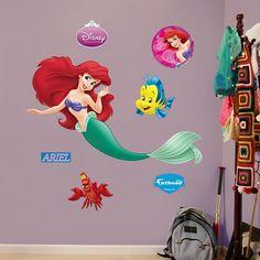 The Little Mermaid - Ariel - Princesses - Disney Fathead