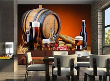 Beer and Food Wall Mural Photo Wallpaper GIANT WALL DECOR PAPER POSTER FREE GLUE