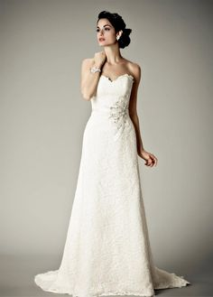 New Matthew Christopher Wedding Gowns at #NordstromWeddings