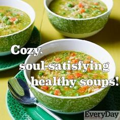20 Healthy Soups by TamidP