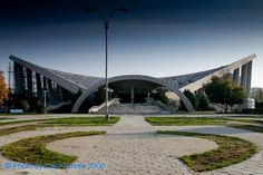 Olympic Swimming Pool - Bacau Olympic Swimming, Swimming Pools, Street Photographers, Romania, Olympics, Sidewalk, Country, Architecture, Building