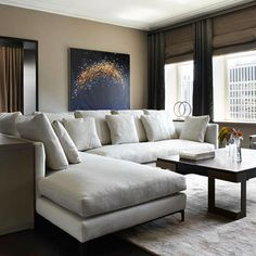 <p>Doug Atherley makes the most of an elegant apartment</p>