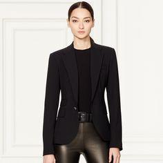 Parker Stretch Wool Jacket - Jackets  Jackets & Outerwear - RalphLauren.com