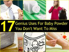 17 Genius Uses For Baby Powder You Don't Want To Miss | DIY Cozy Home