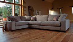 Sherwood Corner Sofa from Darlings of Chelsea #cornersofa