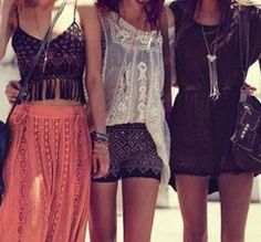 This is my favorite style: BOHO!