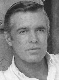 George Peppard - fits with the The A-Team Marathon on telly right now. George Peppard, Vintage Hollywood, Classic Hollywood, Men In Kilts, The A Team, Classic Movies, Vintage Movies, Famous Faces, Hollywood Stars
