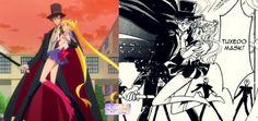 Sailor Moon Crystal- Sailor Moon y Tuxedo Mask by SairlorMoonFans.deviantart.com…