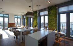 Bytové zahrady v kombinaci s moderním interiérem