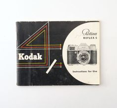 Kodak Retina Reflex S Instruction Manual by Tiddalik on Etsy