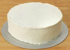 17. mai kake   Bløtkake i rødt, hvitt og blått   Oppskrift - MatPrat Vanilla Cake, Desserts, Food, Vanilla Sponge Cake, Meal, Deserts, Essen, Hoods, Dessert