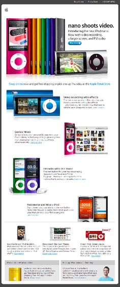 Apple email marketing