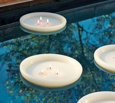 Citronella Floating Candle | Pottery Barn