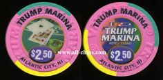 #AtlanticCityCasinoChip of the Day is a $2.50 Trump Marina snapper you can get here http://www.all-chips.com/ChipDetail.php?ChipID=3447 #CasinoChip #Trump