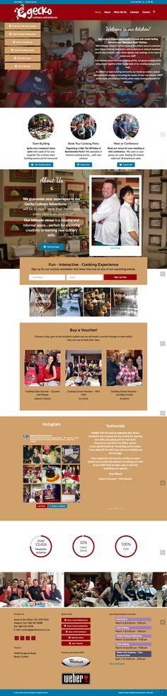 Gecko Culinary Adventures Website  Website Design & Development by 1 Day Webs (http://www.1daywebs.com/)