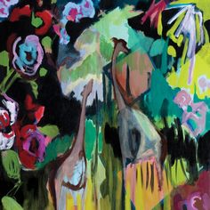 Fabric_giraffes by fibercopia Paintings I Love, Indian Paintings, Beautiful Paintings, Abstract Paintings, Giraffe Fabric, Giraffe Images, Colorful Artwork, Fabric Wallpaper, Art World
