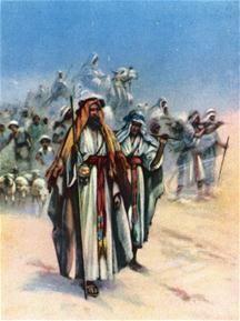 Op weg naar het Beloofde Land Een kinderverhaal bij Exodus 12, 1 – 50; 13, 1 – 16 Ruben luisterde ingespannen naar het fluisterend overleg van vader en moeder. Hij merkte dat vader bang was. 'Wat zullen de Egyptenaren doen? Zouden ze ons zomaar laten gaan?!' We gaan naar het Beloofde Land 'We moeten vertrouwen hebben, Abel. Je hebt Mozes gehoord – God zal ons helpen!' Er viel een geladen stilte.