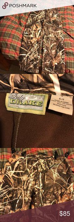 Drake waterfowl insulated camouflage pants. Women size 4-6. Insulted camouflage hunting gear. Drake Waterfowl drake Pants Straight Leg