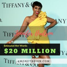Jennifer Hudson currently has a net worth of around $20 million. The majority of this net worth was accrued through her music success and performances, but also through her sponsorship with Weight Watchers over the years.