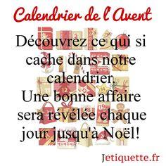#noel #bonnesaffaires #jetiquette #decembre #calendrier #avent