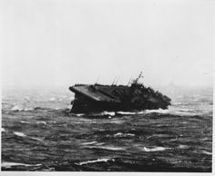 December 18, 1944: Lieutenant Gerald R. Ford nearly finds himself swept from the deck of the USS Monterey during Typhoon Cobra.
