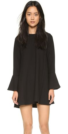 WAYF Flutter Sleeve Dress | SHOPBOP