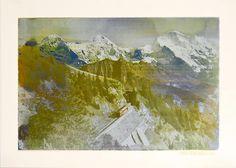 Berner Oberland 1970 102 x 73 cm