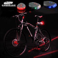 Queshark 5 LED 2 Лазерная Горный Велосипед Задний Фонарь Задний Фонарь MTB Ночной Езды Безопасности Предупреждение Велосипед Задние Свет Лампы Велосипед огни