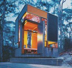 Zig Zag Cabin | 10m2 approx | Wollombi NSW | Drew Heath Architect drew@drewheatharchitect.com